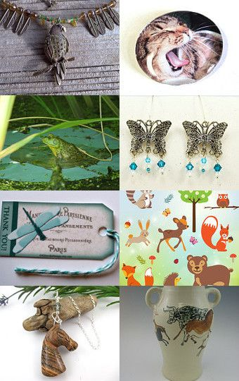 Wildlife/Pets - Team PIF by Jude on Etsy--Pinned with TreasuryPin.com