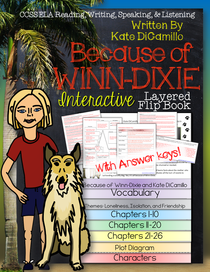 Because of Winn Dixie Chapter 1 - YouTube
