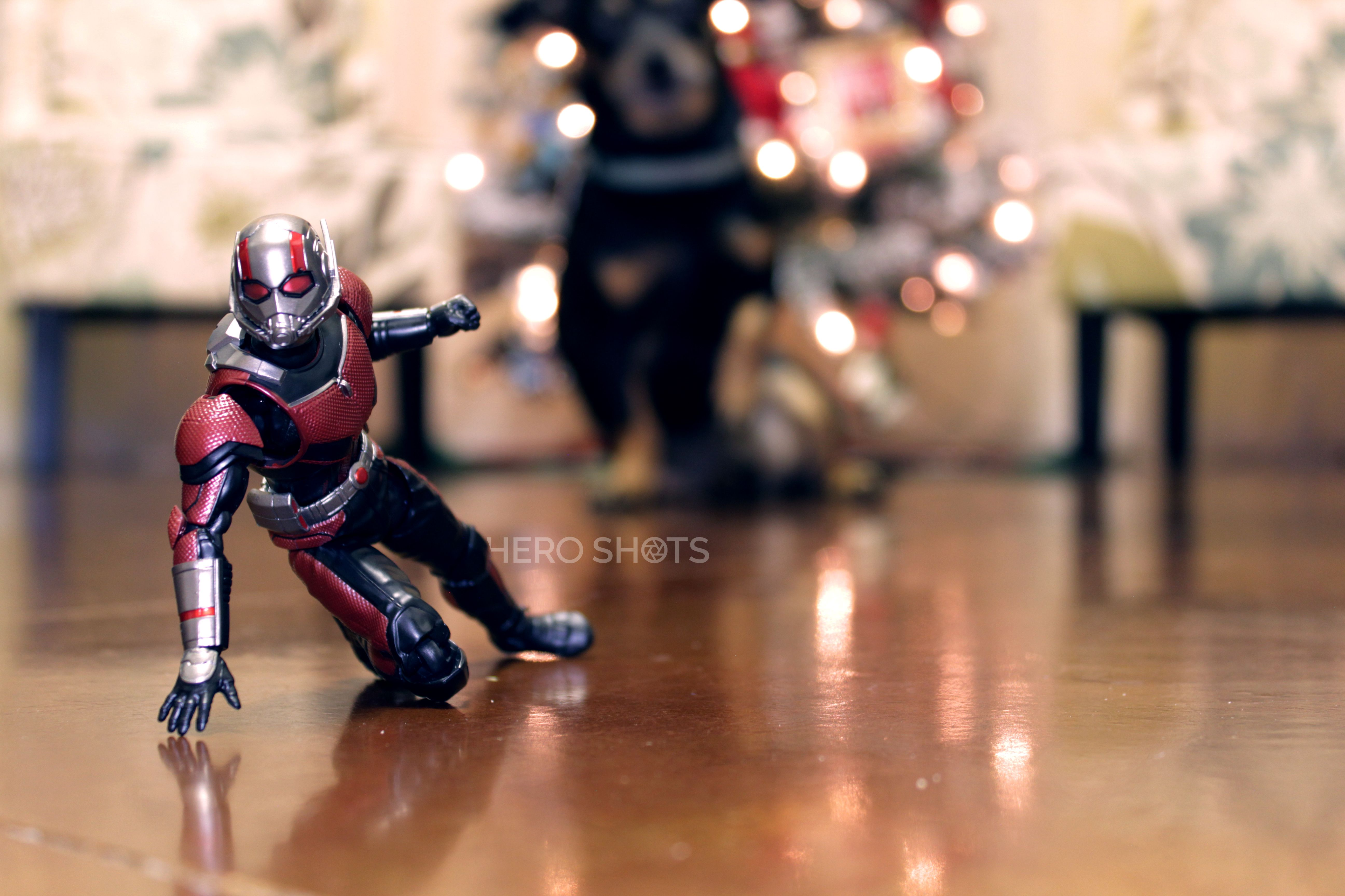 Breaking In The New S H Figuarts Ant Man Figure With The Help Of
