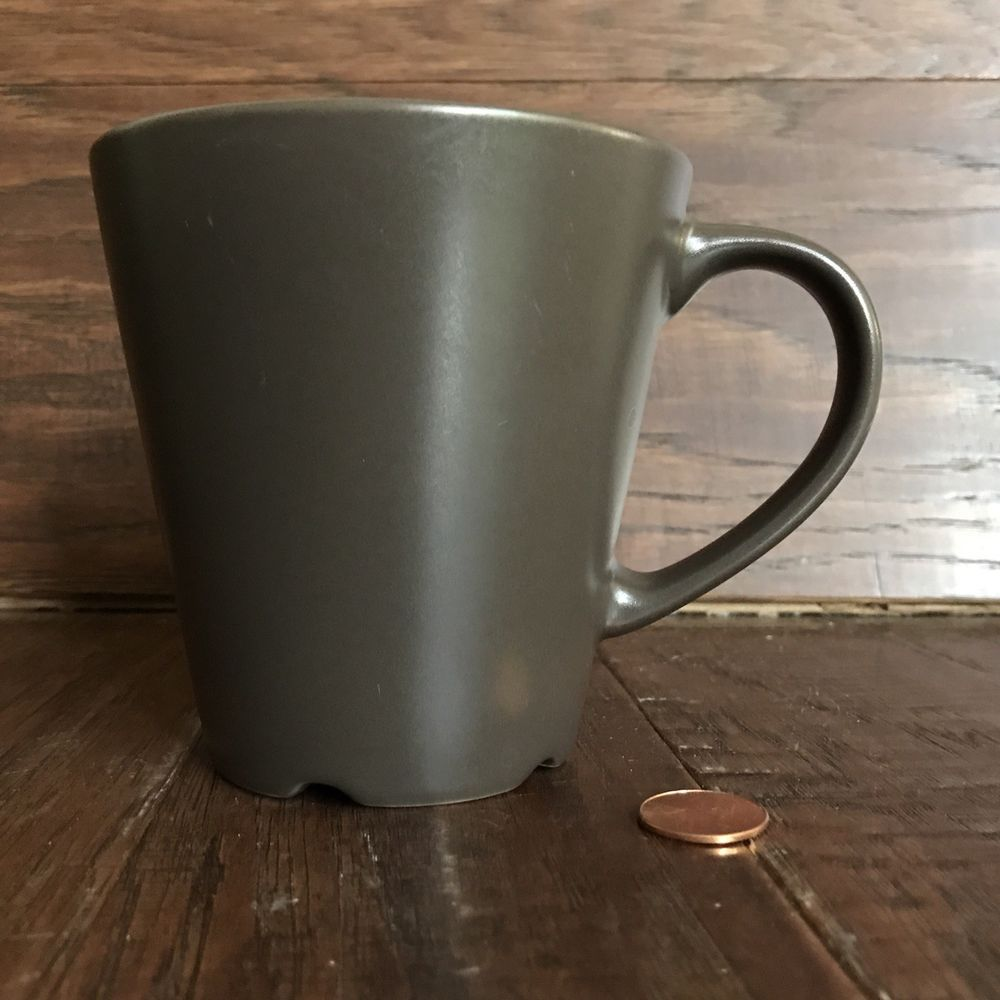 Details About Ikea Dinera Smooth Matte Brown Coffee Tea Mug