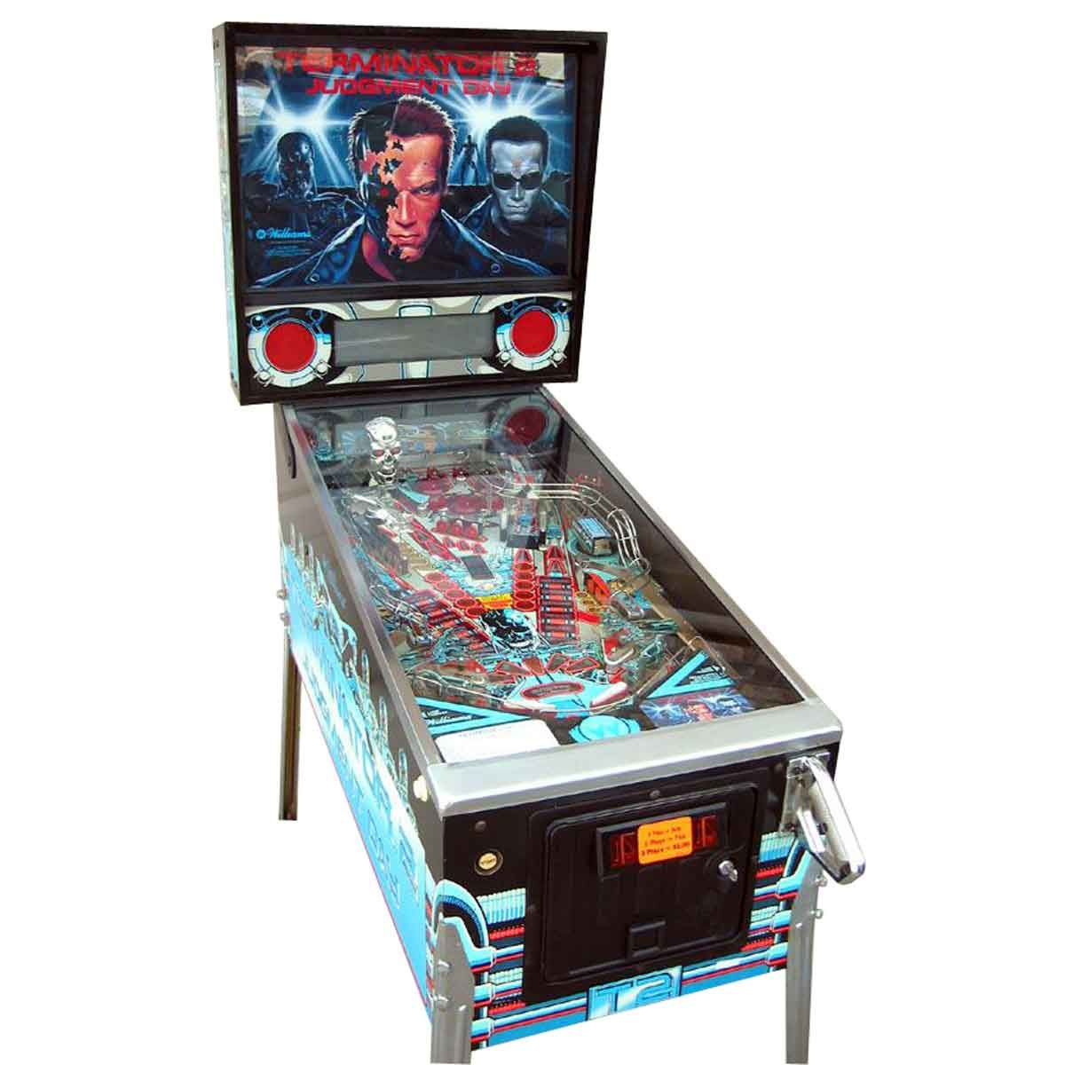 Terminator 2 Pinball Machine by Williams | Pinball, Flipper ...