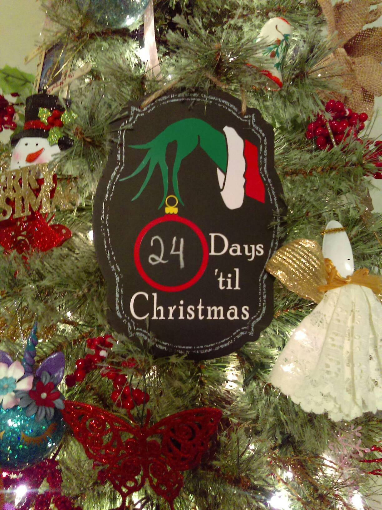 sale christmas countdown days til christmas grinch christmas decor wall hanging