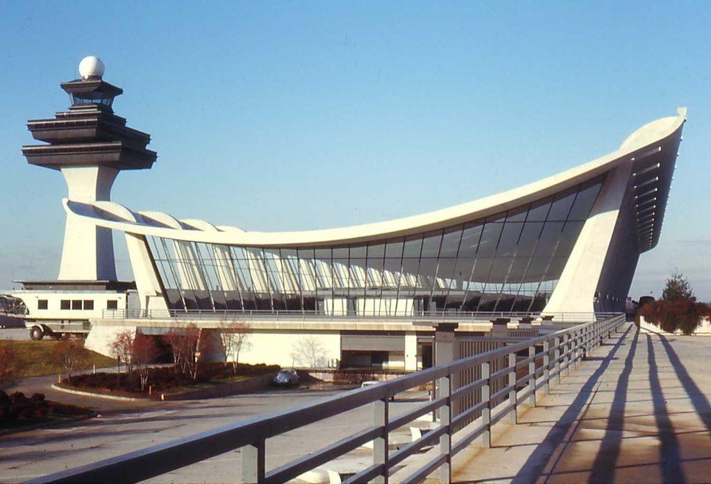 Dulles Airport, Washington DC, 1967.