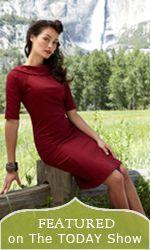 Scarlet vintage dress http://www.vintagedancer.com/wiggle-dresses/