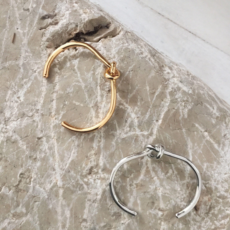 Gold & Silver Knot Bracelet by StyleRepertoire.com