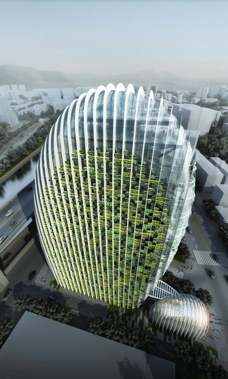Taipei Nangang High-tech District Office Tower is new impressive
