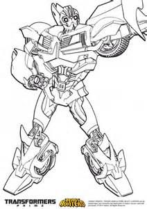 Prime Beast Hunters Coloring Pages Coloriage Transformers Sketch