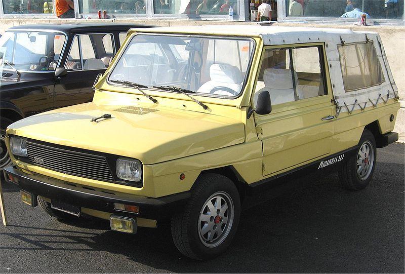 Fiat Moretti Midimaxi 2nd Series 1980 Fiat Renault Fiat Abarth