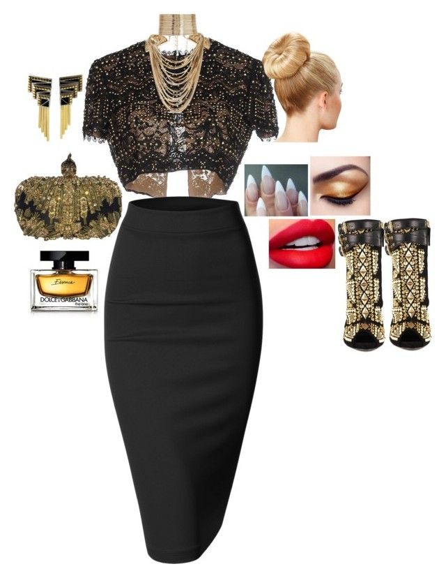"""""""Untitled #86"""" by anaflores7822 ❤ liked on Polyvore featuring Emilio Pucci, Alexander McQueen, Doublju, Erté, Giuseppe Zanotti, Dolce&Gabbana and Rosantica"""