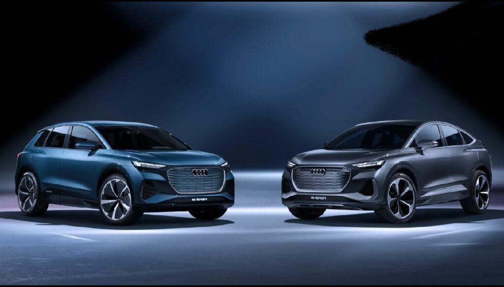 2021 Audi Q4 Sportback E Tron Should Join Audi S Line Up Next Year Audi Q4 Audi E Tron