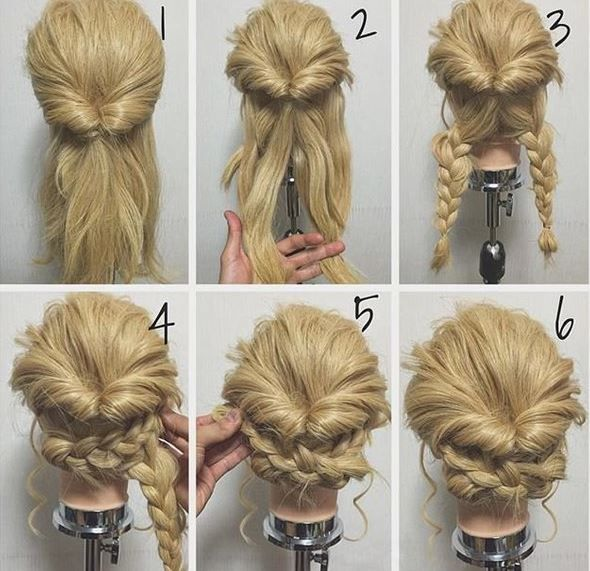 Las With Long Hair Rejoice Easy Updos For Do Exist And We Ve Found 17 Of Them The Best Part These Cute Hairstyles Are Also Quick