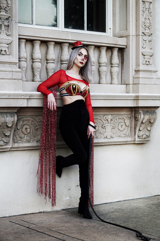 My Halloween Costume Circus Ringleader