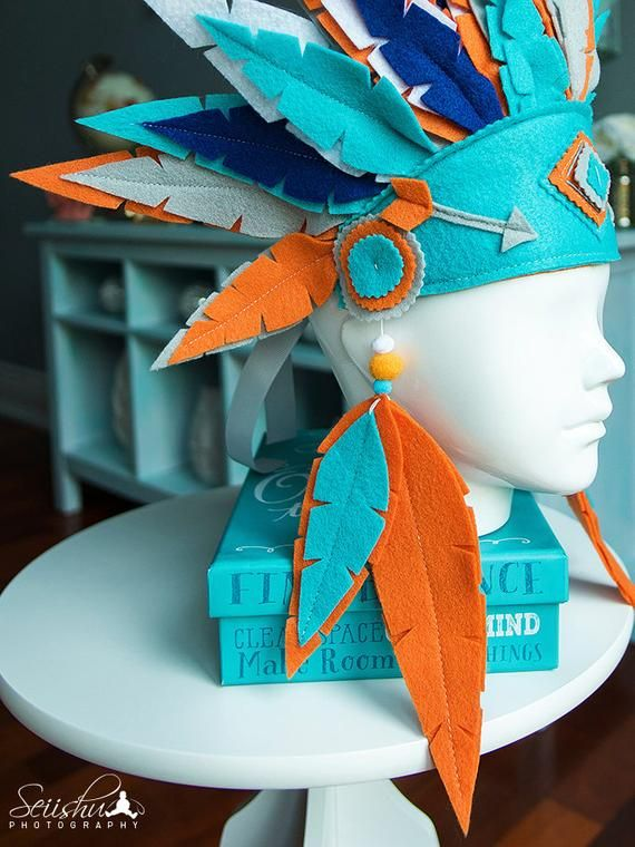 Photo of Baby toddler headdress, Indian birthday crown, wild birthday, young Indian headdress, feather crown, forest crown, tribal birthday crown