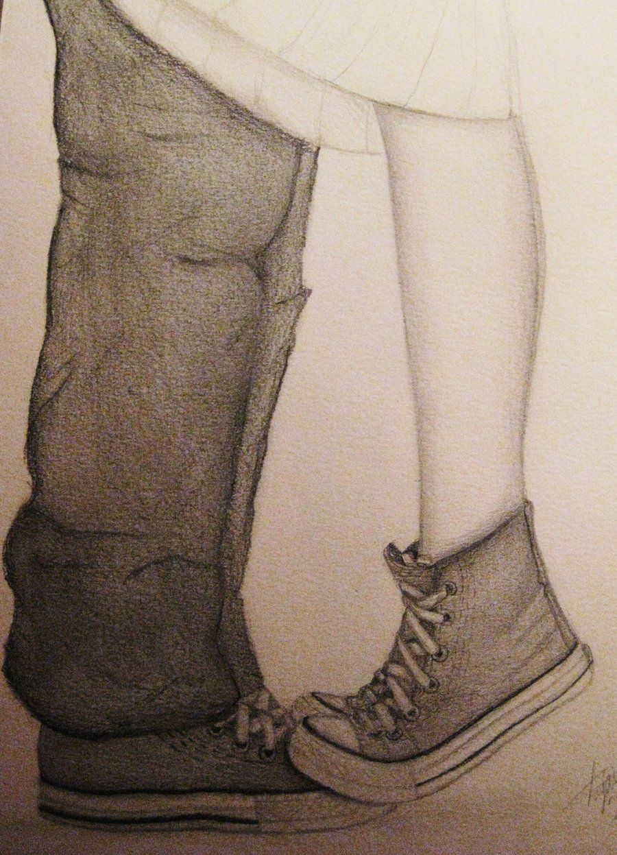 coral nike shoes tumblr couple hugging drawings 833543