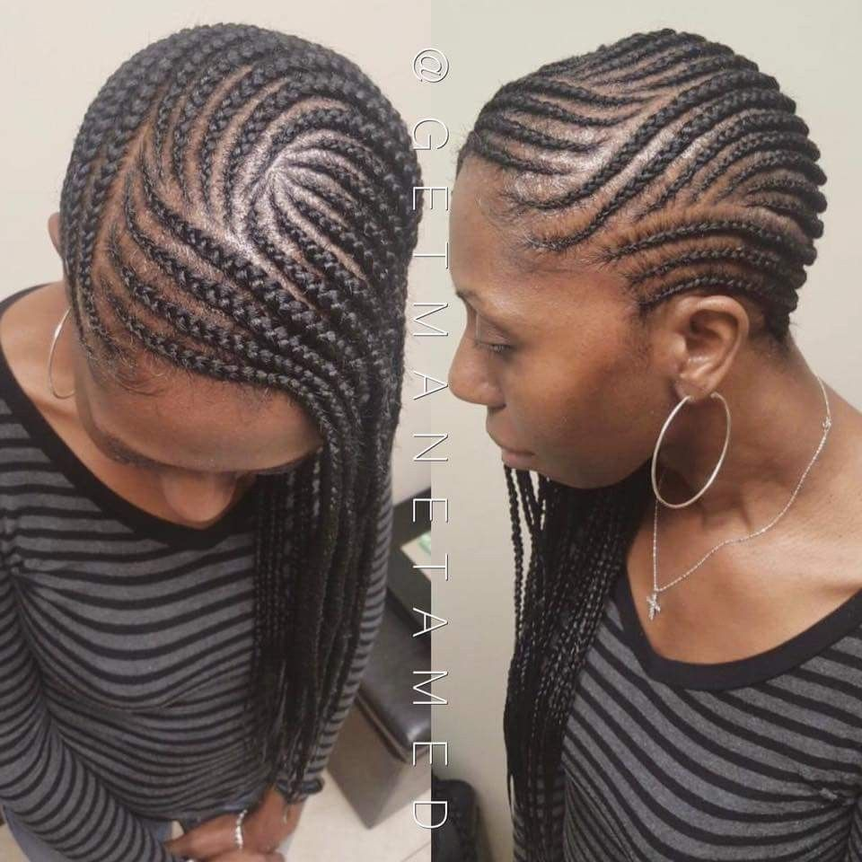 Lemonade Braids Side Braids Cornrows Feed In Braid Feeder