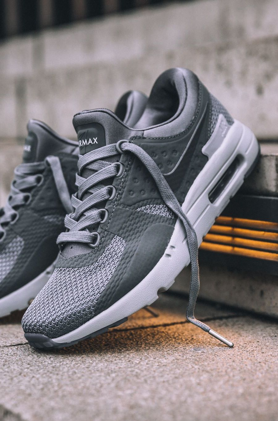 NIKE AIR MAX ZERO QS 'Cool Grey' (via Kicks