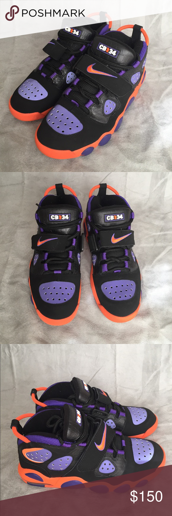 newest 61171 b9806 Nike Air CB 34 Phoenix Suns RARE Size 10 Nike Air CB 34 Phoenix Suns RARE