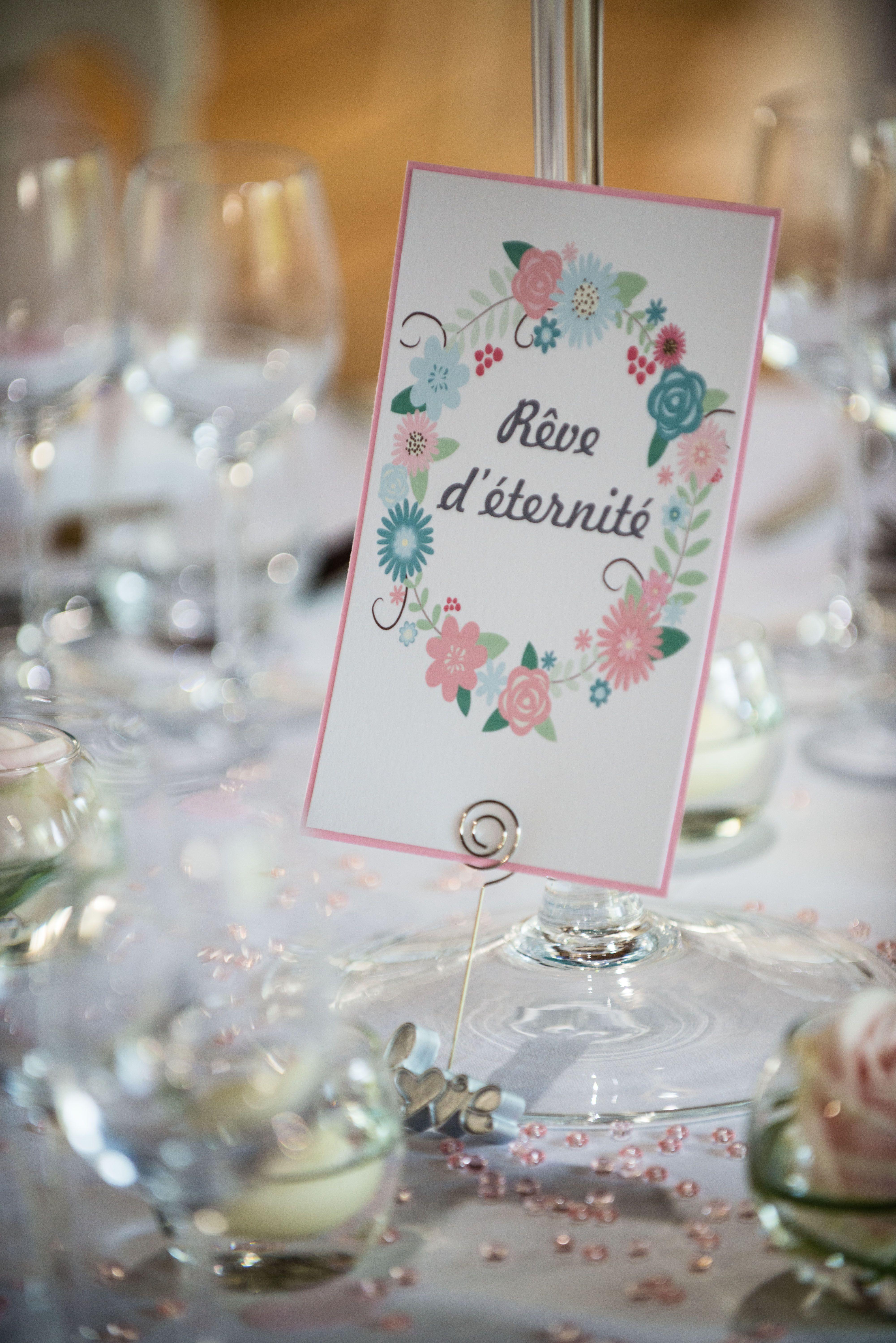 Noms De Table Mariage Chic Romantique Mon Mariage 3 N A Fait Mains Nom De Table Mariage Table Mariage Chic Noms De Tables