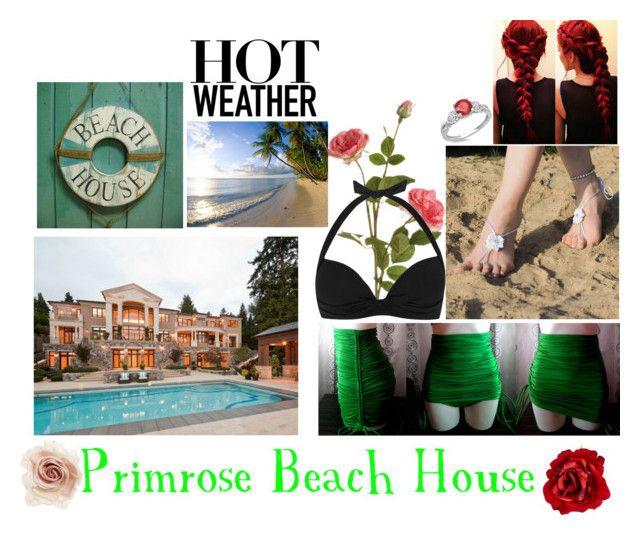 """Primrose Beach House: Anya"" by silentfoxrose on Polyvore"