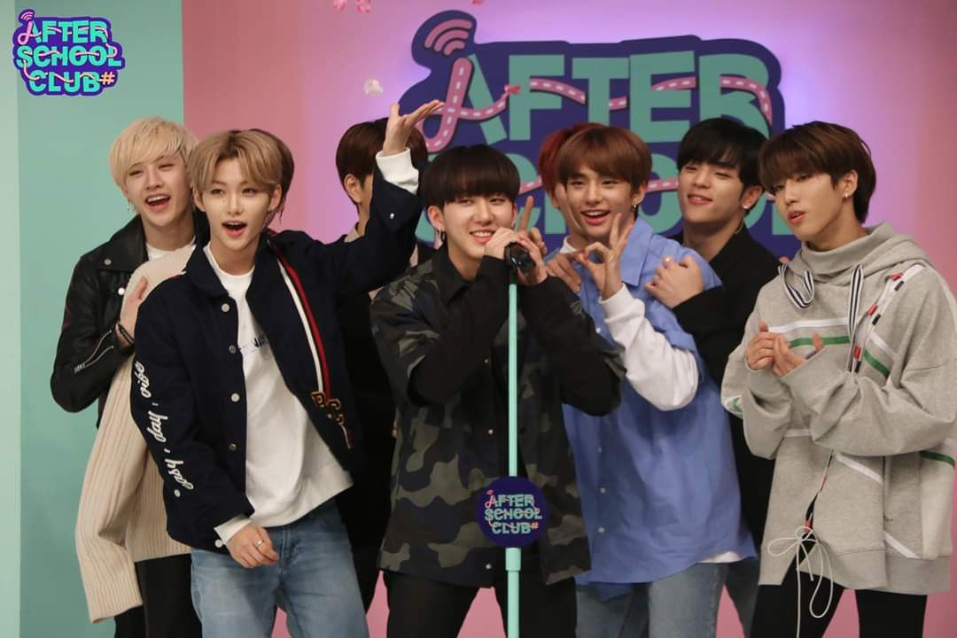 20190409 After School Club Facebook Update Stray Kids On Asc