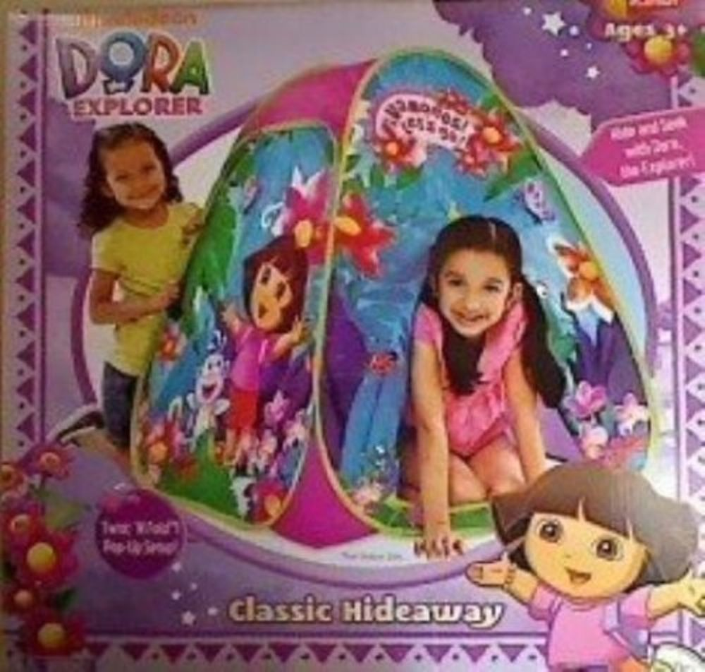 Dora the Explorer Classic Hideaway - Easy to Put up and Pack Away Play Tent  sc 1 st  Pinterest & Dora the Explorer Classic Hideaway - Easy to Put up and Pack Away ...