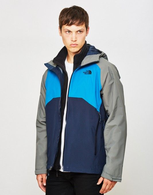 The North Face Stratos Jacket Blue Grey  04ce4c0f8