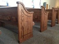 Stain Basics for Church Pews