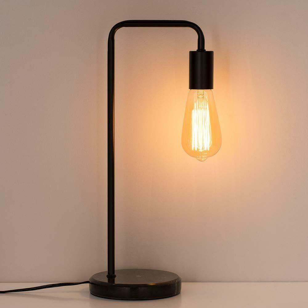 Haitral Industrial Desk Lamps Classic Modern Black Bedside Table Lamp Marble 20 55 Black Desk Lamps Ideas Of B In 2020 Modern Desk Lamp Industrial Desk Lamp Lamp