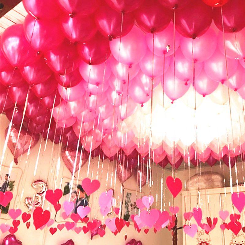 100 Teile/los 10 Zoll Hohe Qualität Perle Ballon