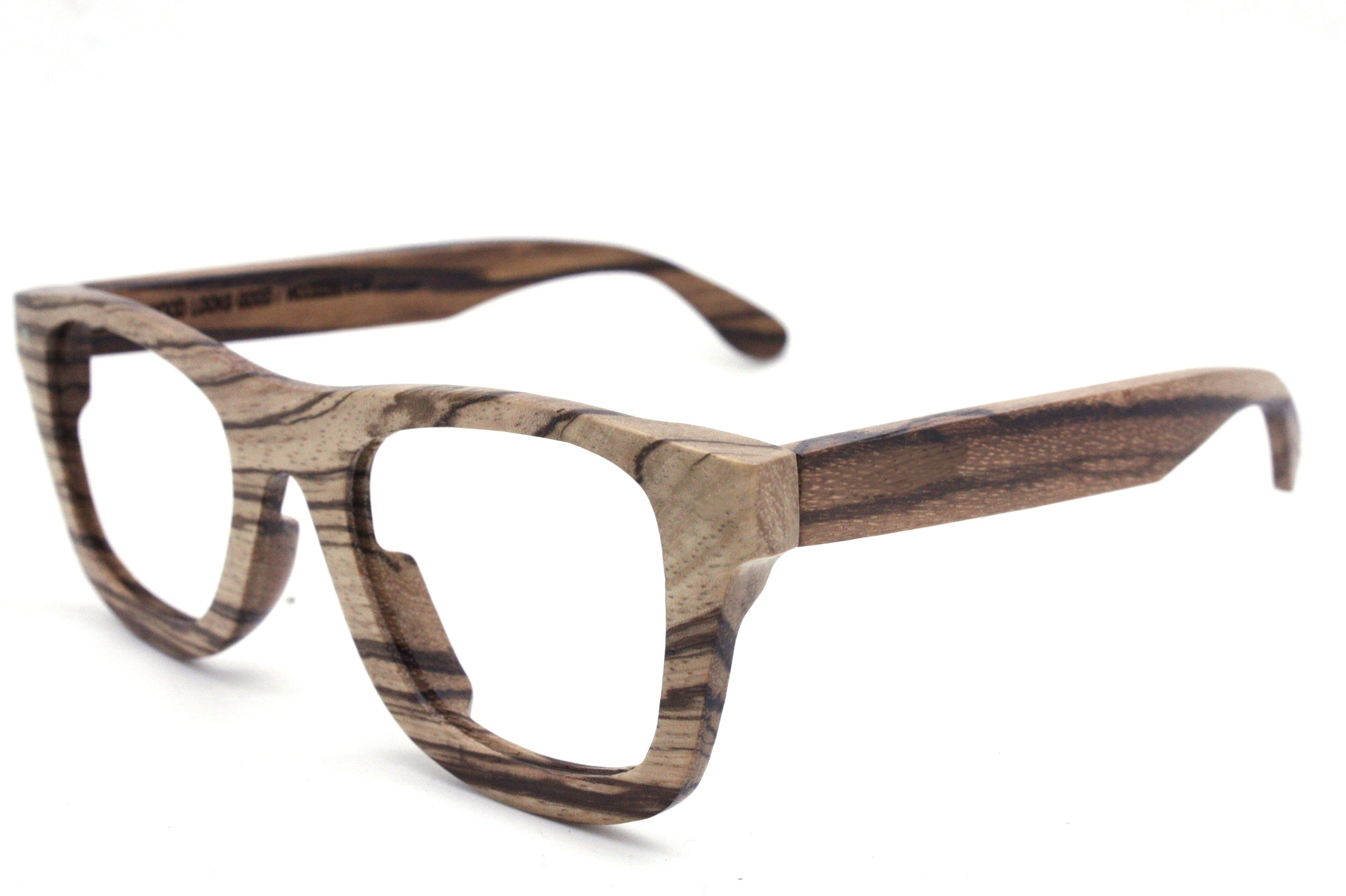 e252f44c787 zebra wood glasses frames