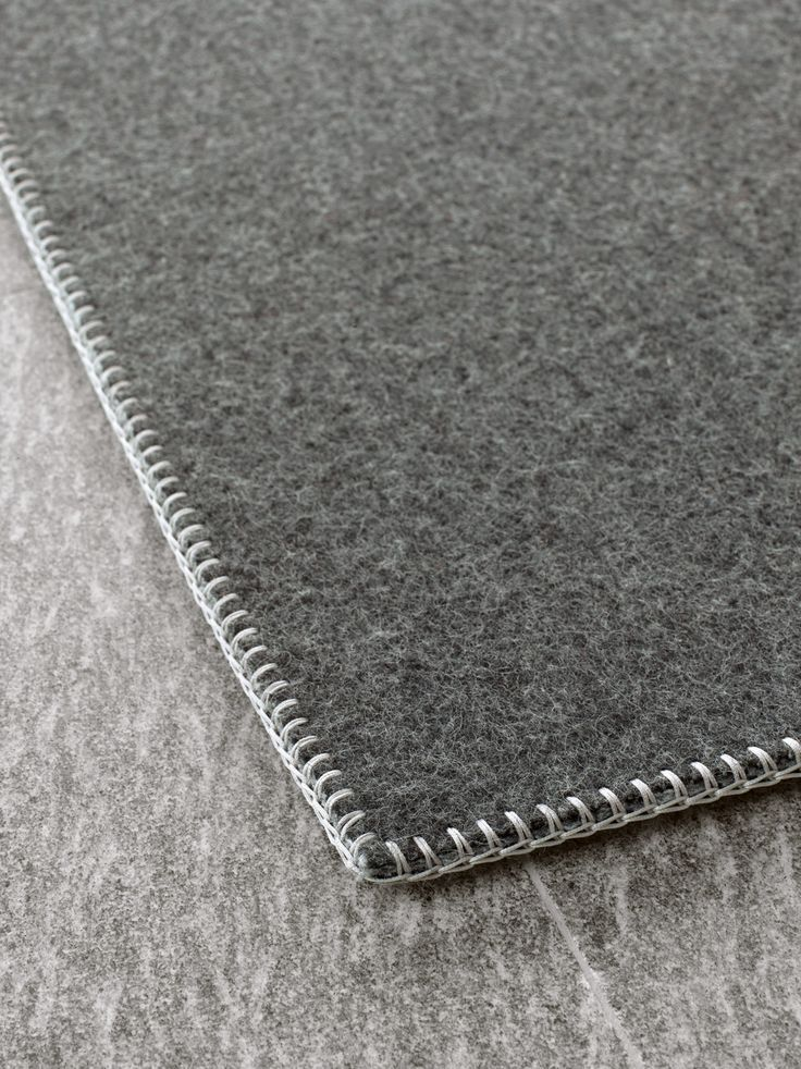 Material of the Month: //Felt//  Unito – Paola Lenti | | rug embroidered by hand, felt 100% pure virgin wool: