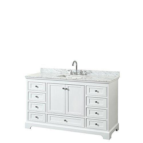 Wyndham Collection Deborah 60 inch Single Bathroom Vanity