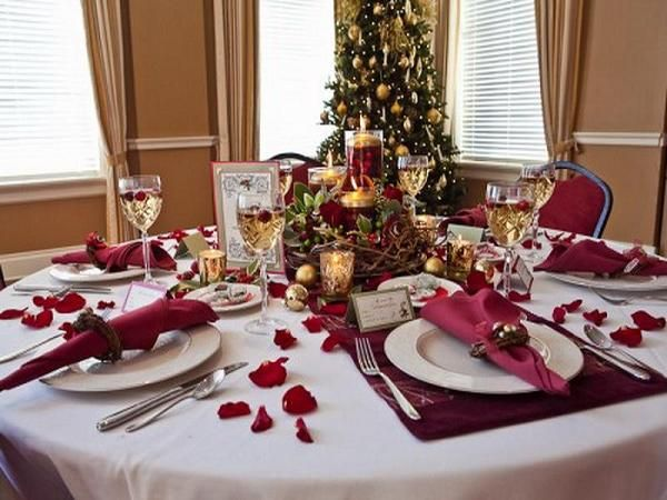 Christmas Table Settings 20 most amazing christmas table decorations | diy christmas table