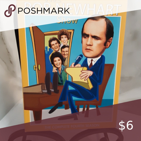 Collectable nostalgia DVD Bob Newhart Season 4 Collectable DVD. Nostalgia Bob Newhart. Three disc set. Episodes 1 - 25. Air dates 1975 & 1976 Thank you for visiting my closet. Other