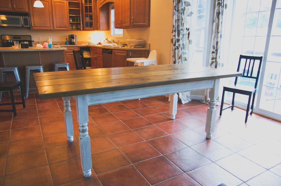 Diy craigslist farmhouse table farmhouse table diy