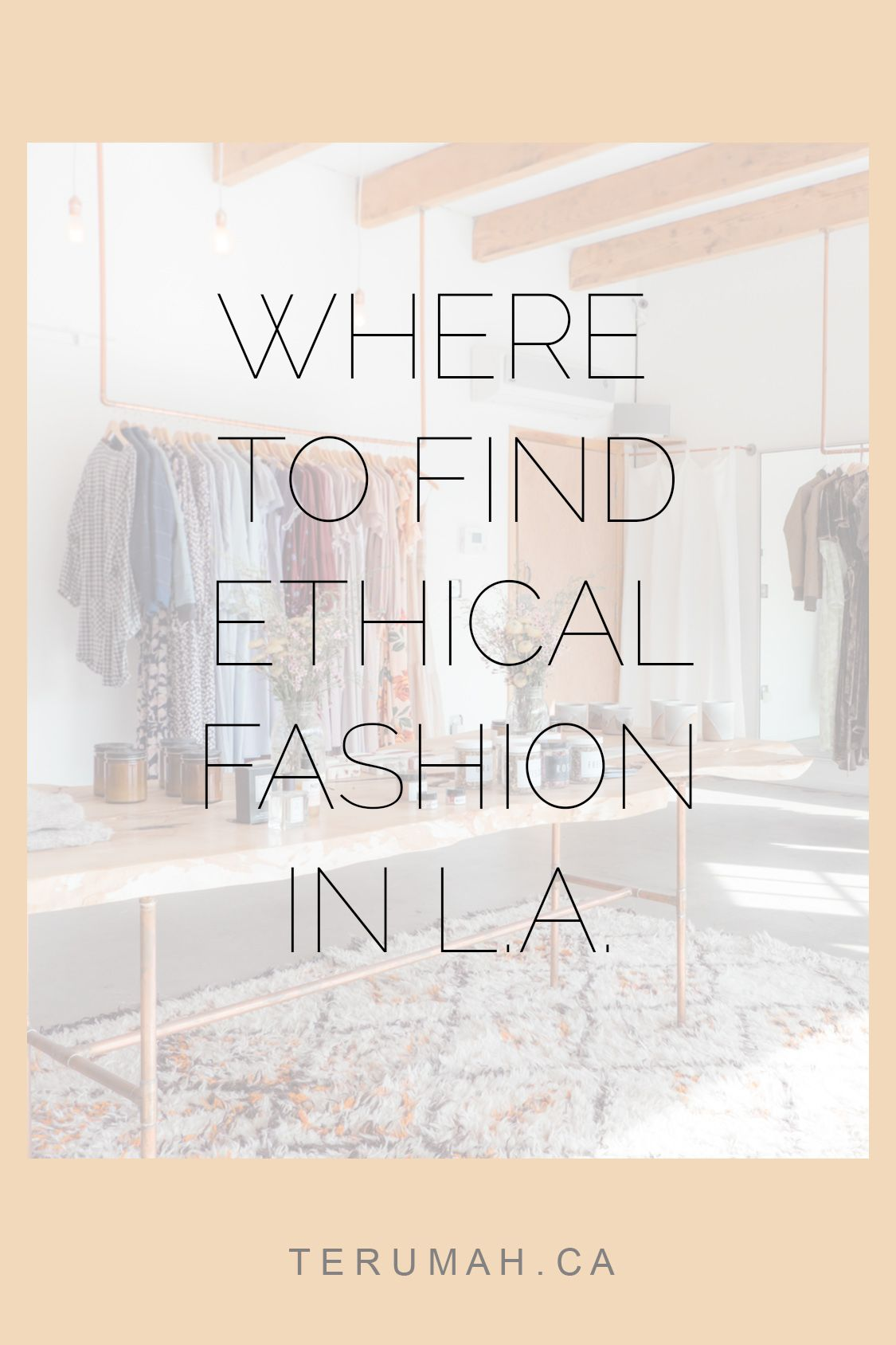 It is an image of Exhilarating Garment Labels Los Angeles