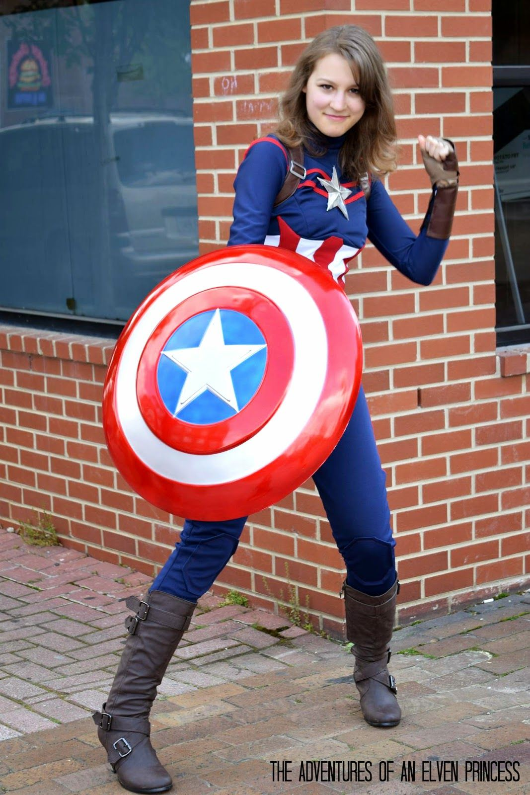eb2d941087 The Adventures of An Elven Princess  Captain America Cosplay - The  Photoshoot