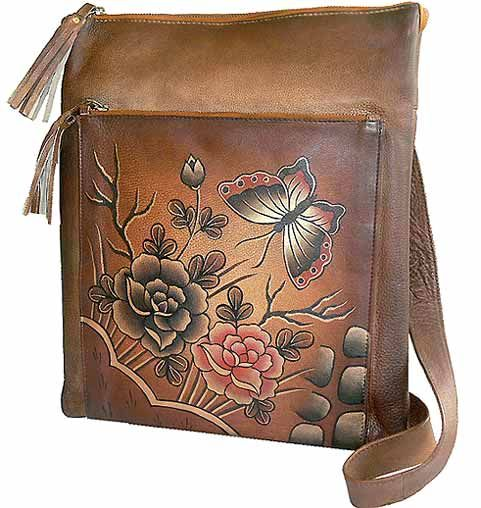 Sova Hand Painted Bag
