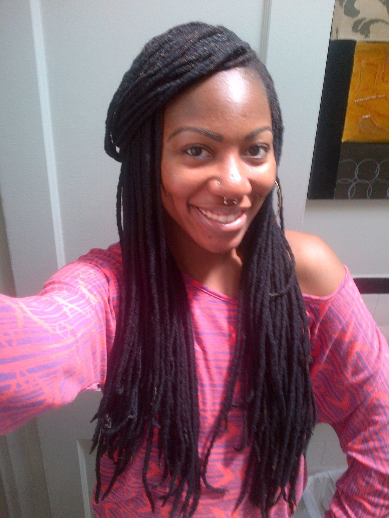 To acquire How wear to long yarn braids pictures trends