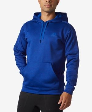 acd86e5d35fa adidas Men s Team Issue ClimaWarm Fleece Hoodie - Blue 2XL ...