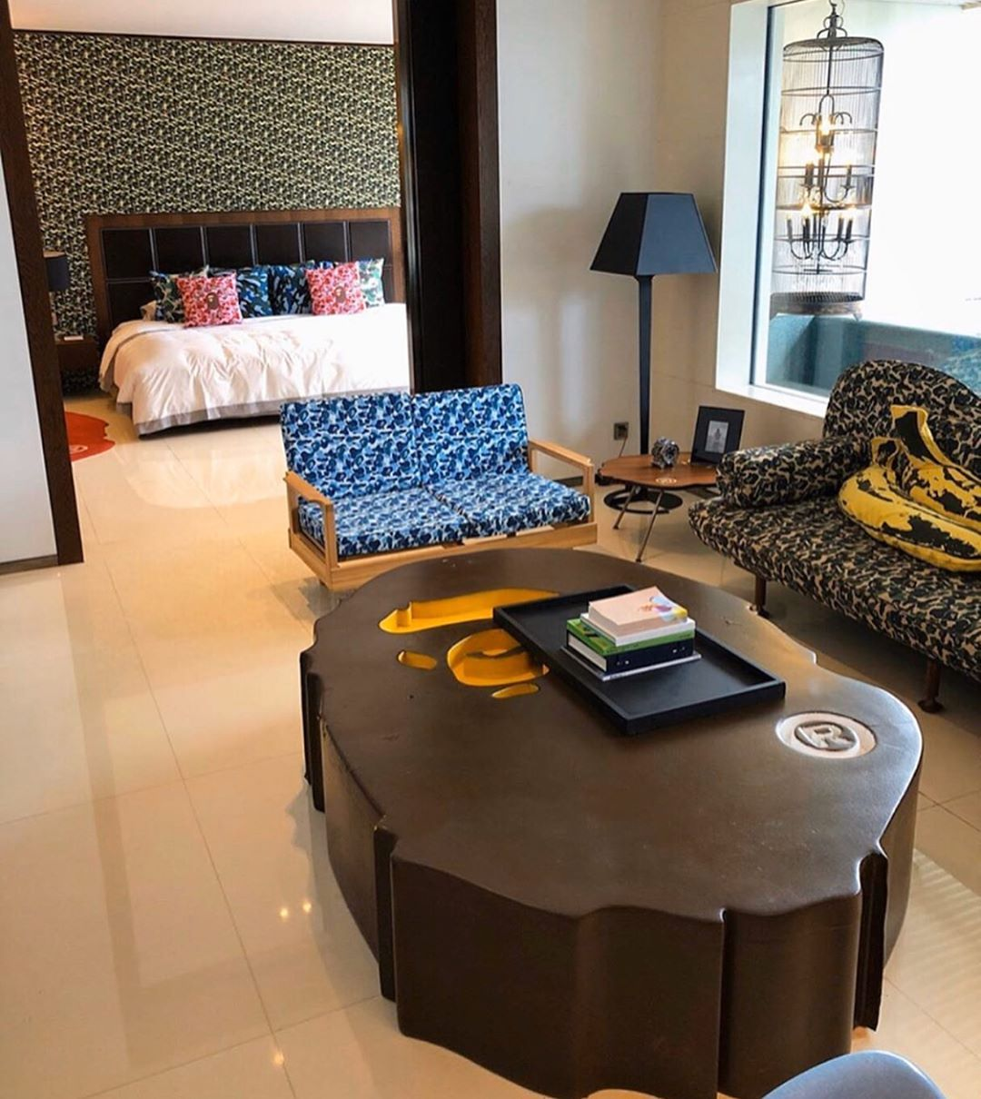 Art Encompasses All On Instagram League Hotels The Bape Suite At The Hotel Eclat In Beijing Home Room Design Aesthetic Room Decor Dream Living Rooms