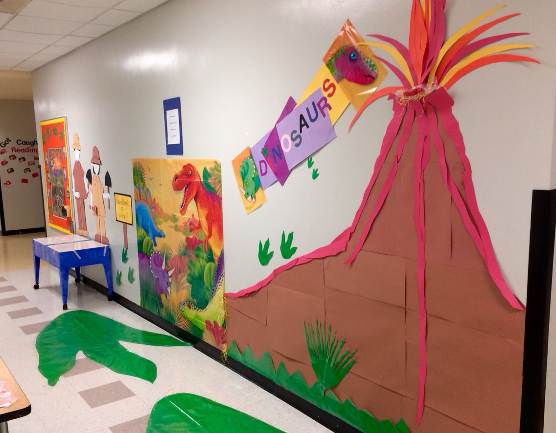 Dinosaurs Display For Pre K With Three Hands On Activities