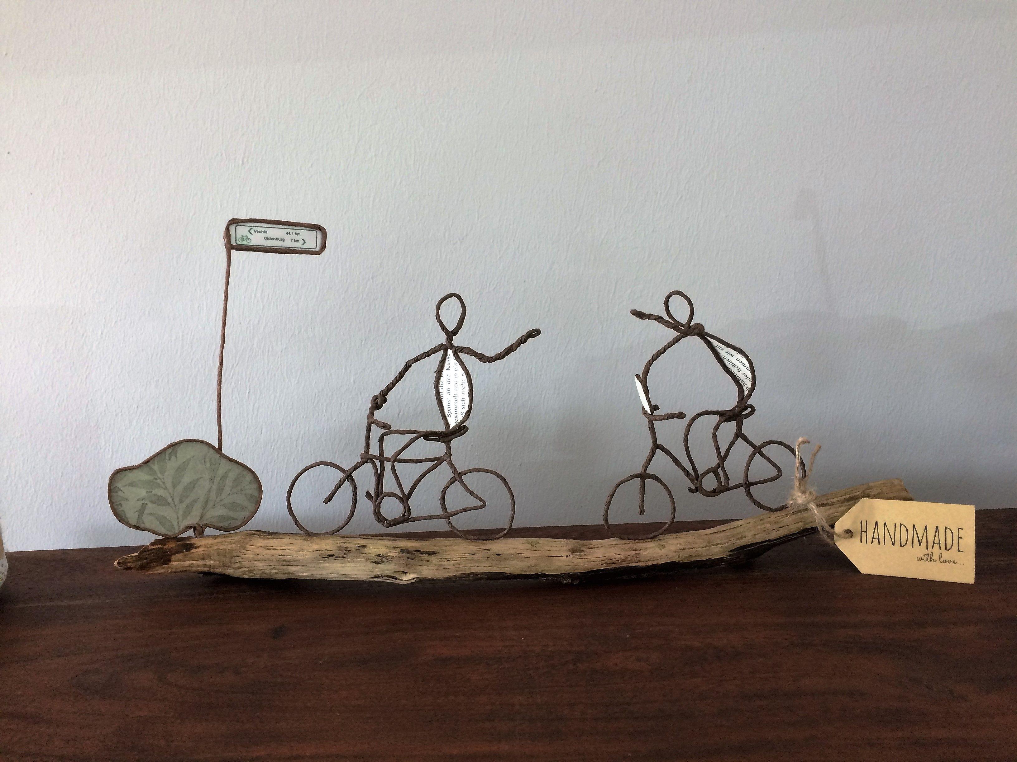 Radtour | Papierdraht Sculpturen by steffio123 | Pinterest ...