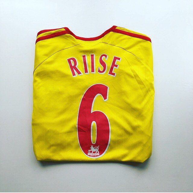 hot sale online 7f1ef f8246 Liverpool away 06/07 - riise 6...link in bio #riise ...