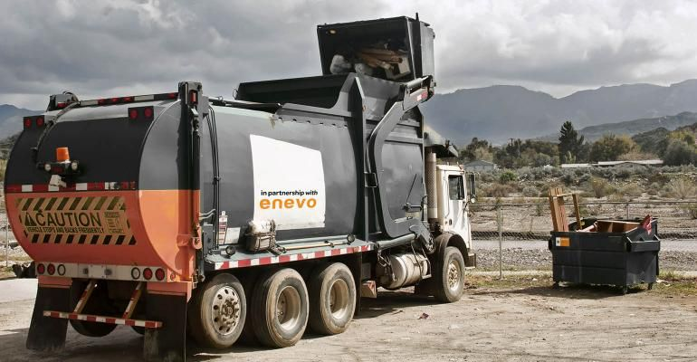 Enevo a provider of waste and recycling services