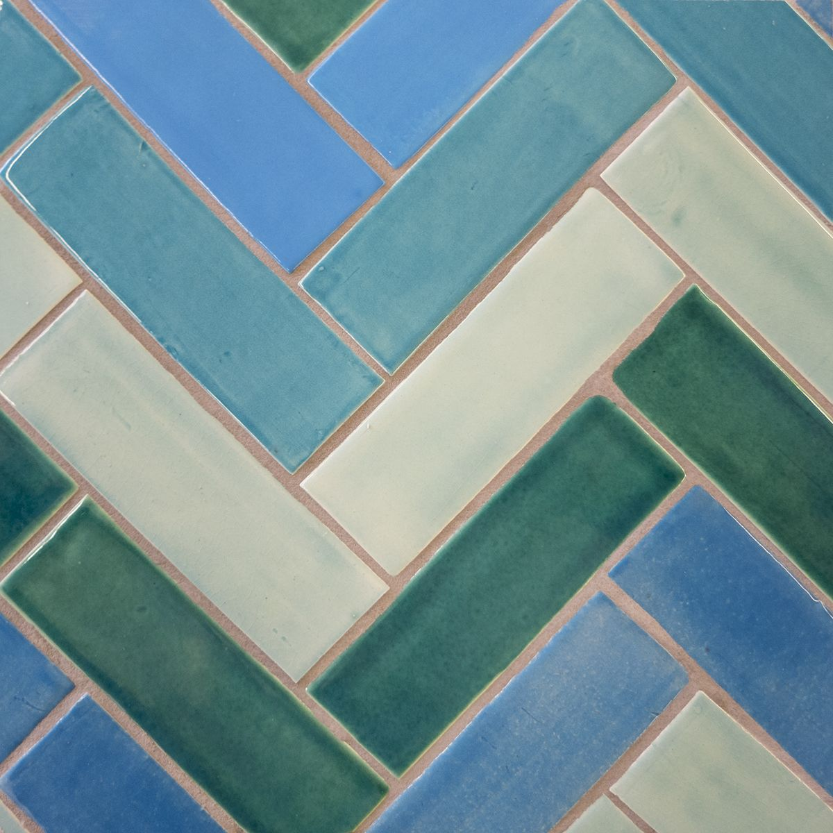 Subway Tile and Fish Scales for lululemon Temecula, CA | Pinterest ...