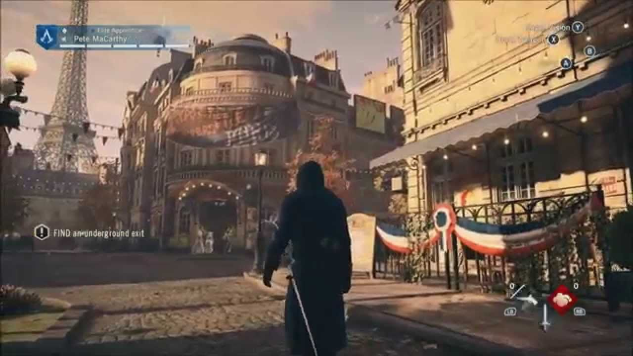 Assassins Creed Unity Gameplay Walkthrough Part 6 Sequence 3
