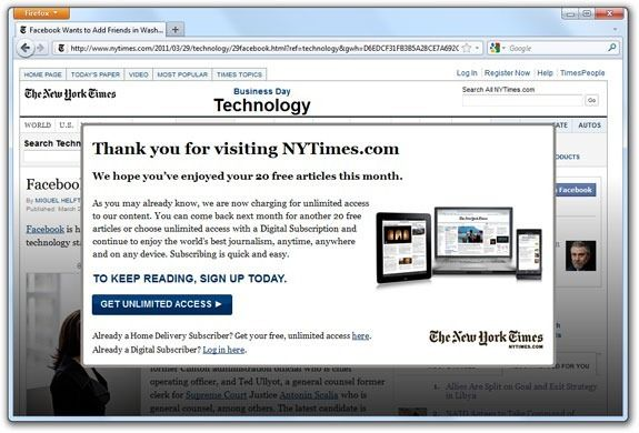 How To Bypass The New York Times Paywall Current Business News