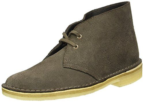 Clarks Originals Desert Boot Veloursleder, Schwarz, 42 EU/8 UK
