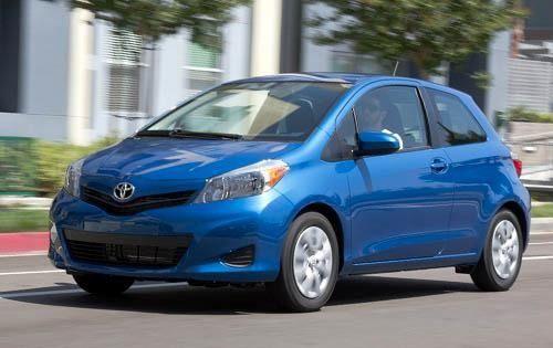 2012 Toyota Yaris Hatchback Yaris Toyota Hatchback